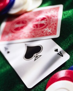 Playing Cards and Poker Chips